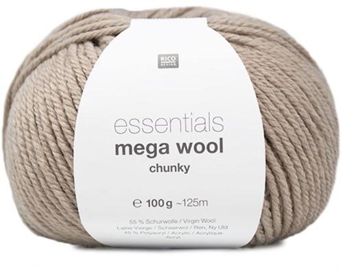 Rico Essentials Mega Wool Chunky 002 Natural