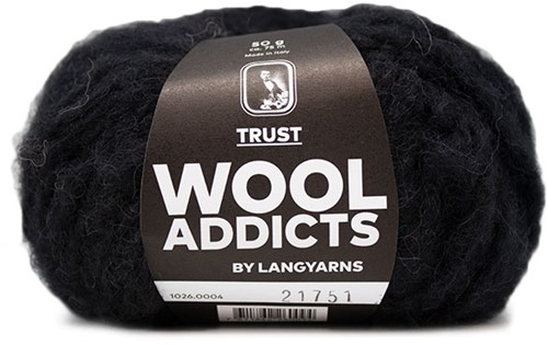 Lang Yarns Wooladdicts Trust 004 Black
