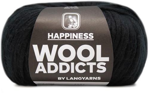 Wooladdicts Solid Stone Vest Breipakket 2 M Black