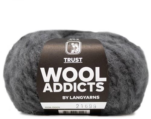 Lang Yarns Wooladdicts Trust 005 Grey Mélange
