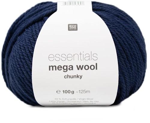 Rico Essentials Mega Wool Chunky 012 Blue