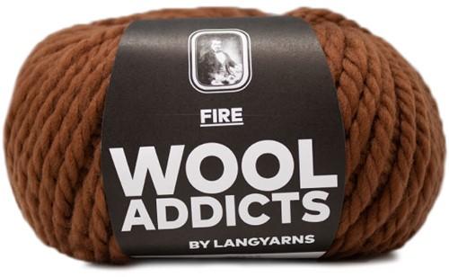 Lang Yarns Wooladdicts Fire 015