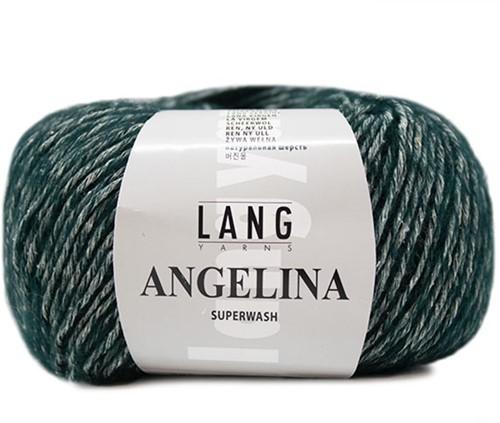 Lang Yarns Angelina 018 Dark Green