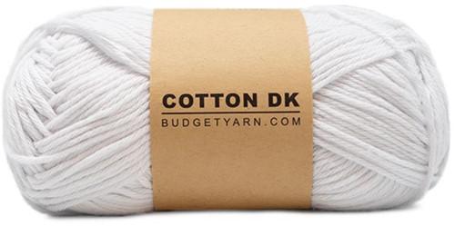Budgetyarn Cotton DK 001 White