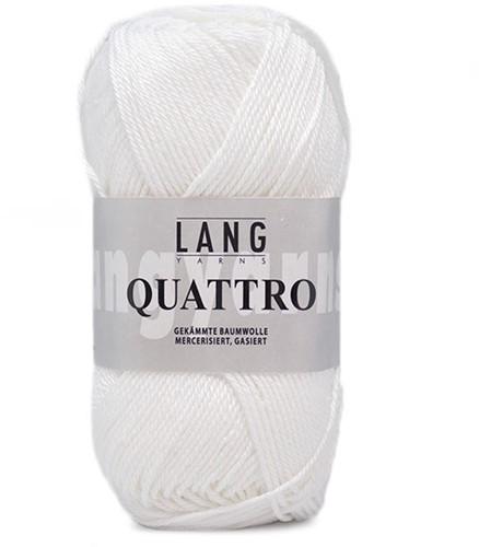 Lang Yarns Quattro 001 White