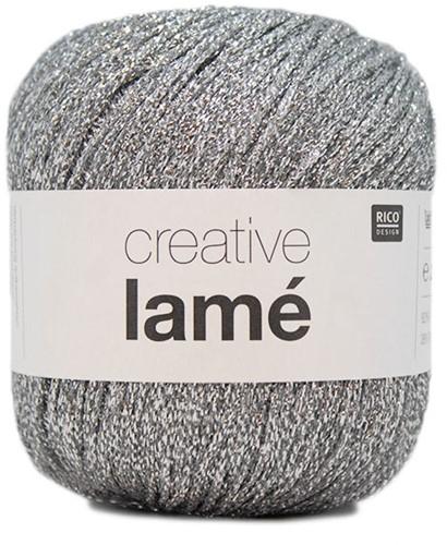 Rico Creative Lamé 001 Zilver