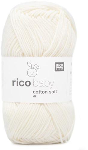Rico Baby Cotton Soft dk 1 White