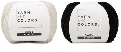 Yarn and Colors Classic Jumper Haakpakket 2 Black S