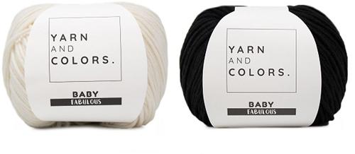 Yarn and Colors Classic Jumper Haakpakket 2 Black L
