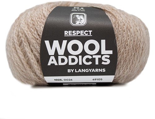 Lang Yarns Wooladdicts Respect 026 Beige