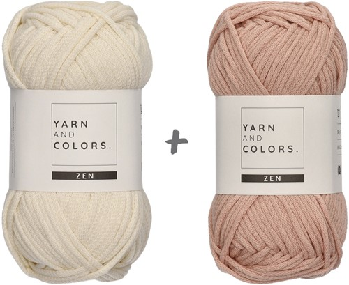 Yarn and Colors Basic Plant Baskets Haakpakket 002 Cream