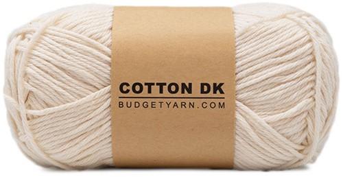 Budgetyarn Cotton DK 002 Cream