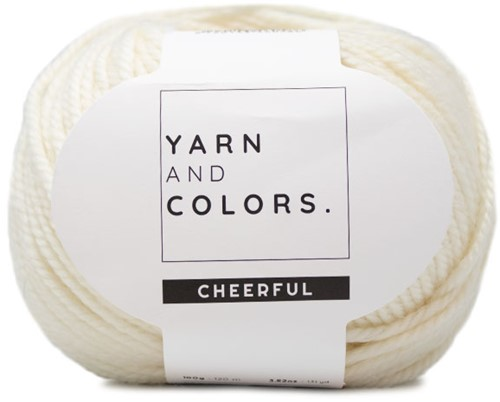 Yarn and Colors Cheerful 002 Cream