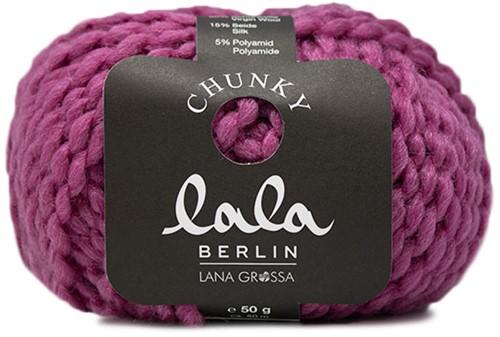 Lana Grossa Lala Berlin Chunky 002 Fuchsia
