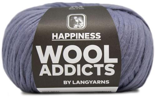 Wooladdicts Solid Stone Vest Breipakket 5 M Jeans