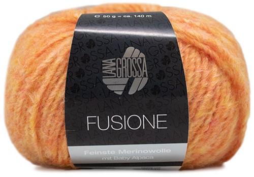 Lana Grossa Fusione 004 Orange-Yellow Mixed