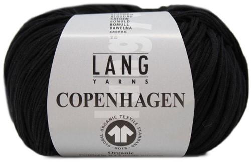 Lang Yarns Copenhagen 004 Black
