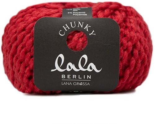 Lana Grossa Lala Berlin Chunky 004 Red