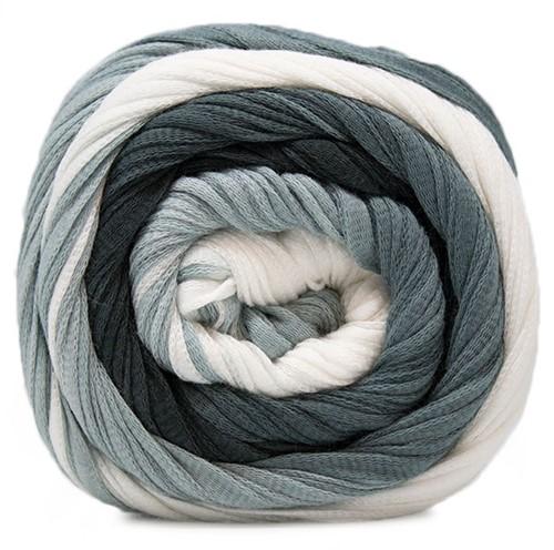 Lang Yarns Sol Dégradé 005 Grey / Black / White