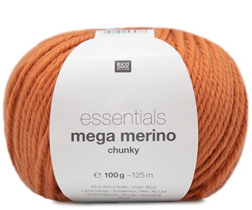 Rico Essentials Mega Wool Chunky 005 Orange