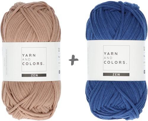 Yarn and Colors Boho Plant Baskets Haakpakket 006 Taupe