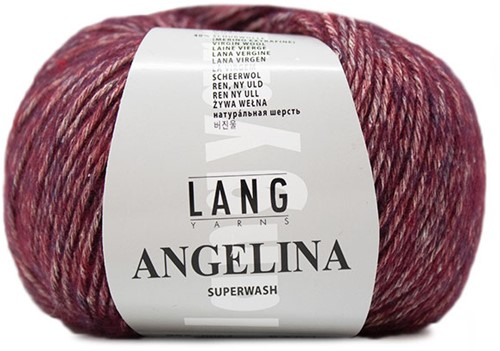 Lang Yarns Angelina 064 Bordeaux