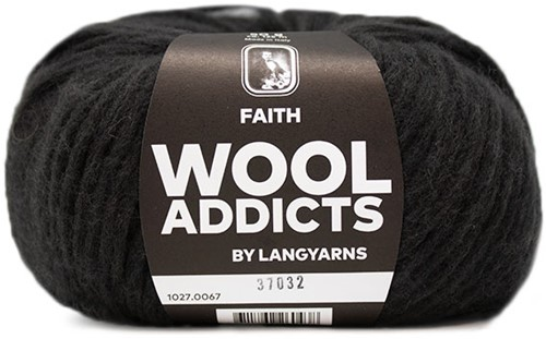 Lang Yarns Wooladdicts Faith 067 Dark Brown