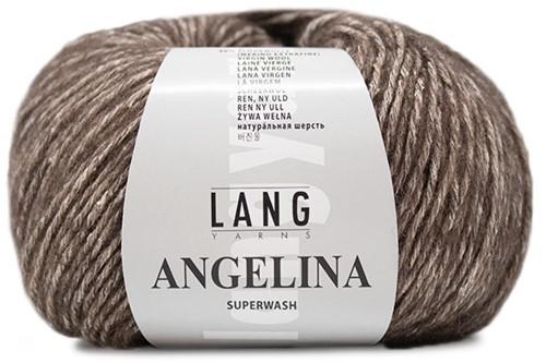 Lang Yarns Angelina 068 Dark Brown