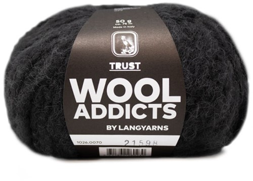 Lang Yarns Wooladdicts Trust 070 Anthracite
