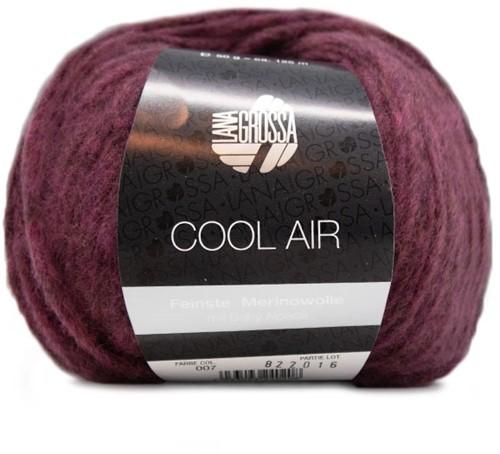 Lana Grossa Cool Air 7 Burgundian