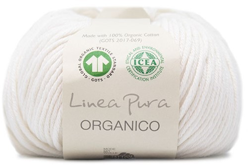 Lana Grossa Organico Uni 007 White