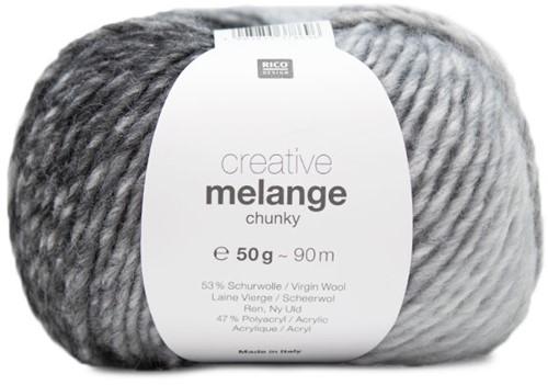 Rico Creative Melange Chunky 007 Grey