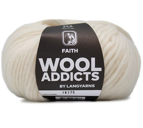 Lang Yarns Wooladdicts Faith 094 Off-White