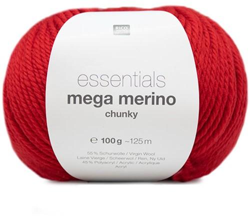 Rico Essentials Mega Wool Chunky 009 Red