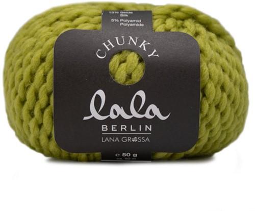 Lana Grossa Lala Berlin Chunky 009 Kiwi Green