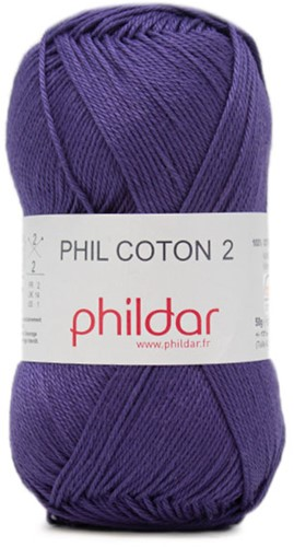 Phildar Phil Coton 2 0102 Encre