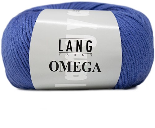 Lang Yarns Omega 010 Blue