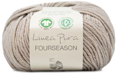 Lana Grossa Fourseason 010 Grey-Beige