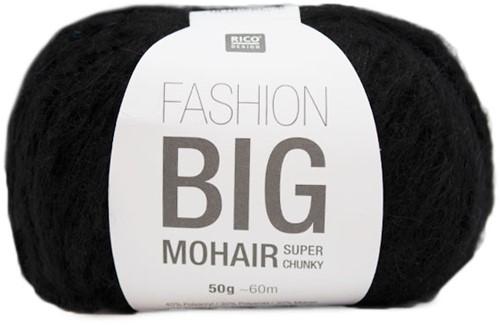 Rico Fashion Big Mohair 10 Black