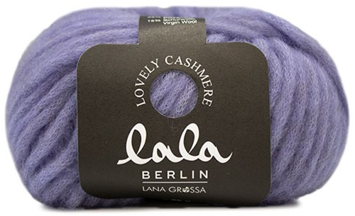 Lana Grossa Lala Berlin Lovely Cashmere 011 Purple