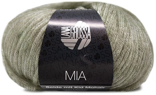 Lana Grossa Mia 012 Green-Grey