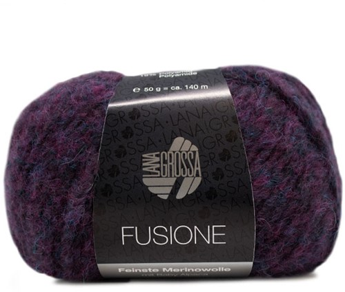 Lana Grossa Fusione 013 Blue / Violet Mixed