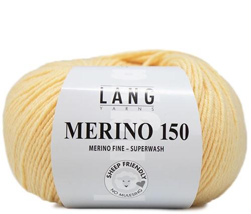 Lang Yarns Merino 150 013 Yellow
