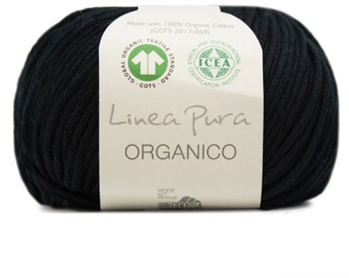 Lana Grossa Organico Uni 014 Black