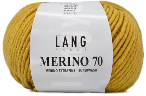 Lang Yarns Merino 70 014 Sun Yellow