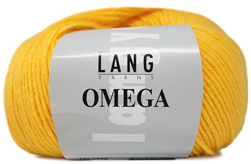 Lang Yarns Omega 014 Yellow
