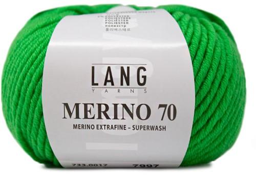 Lang Yarns Merino 70 017 Apple Green