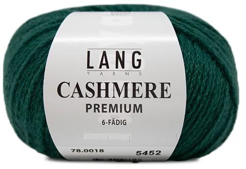 Lang Yarns Cashmere Premium 018 Dark Green