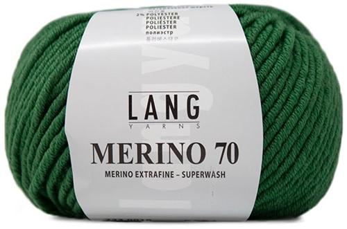 Lang Yarns Merino 70 018 Grass Green