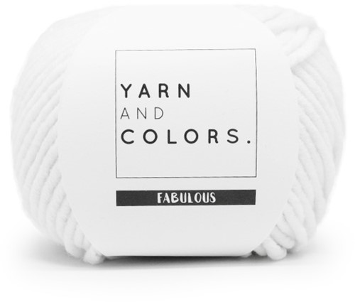 Yarn and Colors Fabulous 001 White